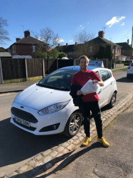 A big congratulations to Reece Palmer, who has passed his driving test today at Newcastle Driving Test Centre, at his First attempt and with just 4 driver faults.<br />