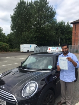 A big congratulations to Robin Joy Robin passed his driving test today at Newcastle Driving Test Centre first time and with just 6 driver faults <br />