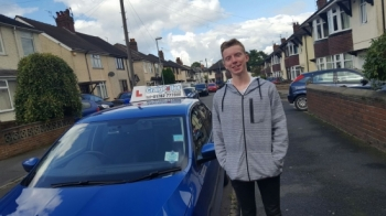 A big congratulations to Ryan Lench Ryan passed his driving test today at Newcastle Driving Test Centre first time and with just 1 driver fault <br />