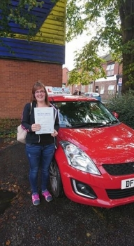 A big congratulations to Sam Moseley Sam passed her driving test today at Crewe Driving Test Centre with 7driver faults<br />