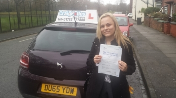 A big congratulations to Shannon Locker Shannon passed her<br />