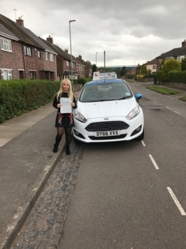A big congratulations to Shauna Robinshaw Shauna passed her driving test today at Newcastle Driving Test Centre with just 5 driver faults <br />