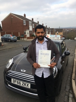 A big congratulations to Thomas Philip, who has passed his driving test today at Newcastle Driving Test Centre, with just 5 driver faults.<br />