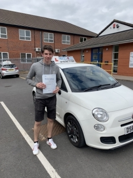 A big congratulations to Steve Baker, who has passed his driving test at Newcastle Driving Test Centre, on his First attempt and with just 2 driver faults.<br />