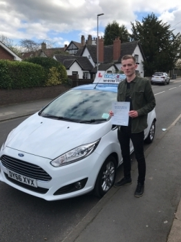 A big congratulations to Will Latham Will passed his<br />