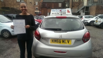 A big congratulations to Yara Correia Yara passed her<br />
