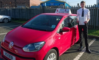 A big congratulations to Zach Salmon Zach passed his<br />