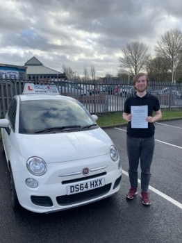 A big congratulations to Teague Davis, who has passed his driving test at Newcastle Driving Test Centre, with just 4 driver faults.<br />