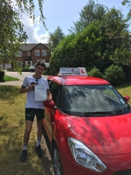 A big congratulations to Callum Sussex, who has passed his driving test today at Cobridge Driving Test Centre, with just 5 driver faults.<br />