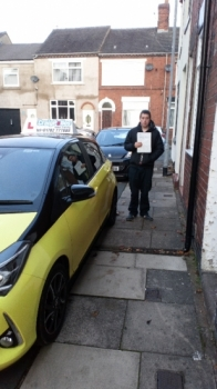 A big congratulations to Chris Hopley, who has passed his driving test today at Cobridge Driving Test Centre, with just 5 driver faults.<br />